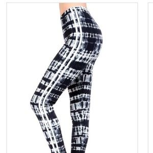 Pants - PRINT STRIPED LEGGINGS